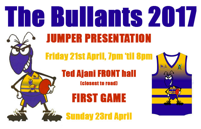 Bullants Season 2017