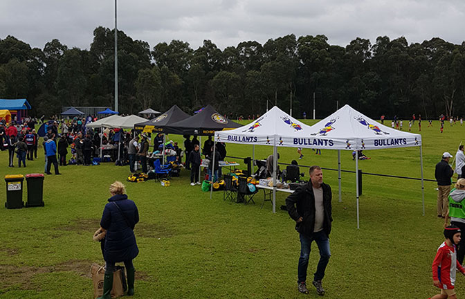 Great Day at Bulleen Park Under 8 Round Robin